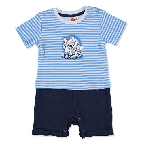Erkek Bebek Tom Ve Jerry Lisanslı Barbtöz