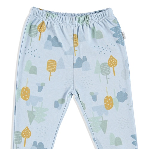 Forest Organic Baby Footed Trousers