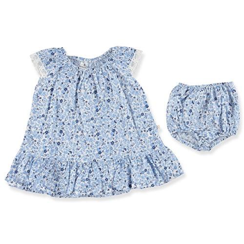 Flowered Panty Dress