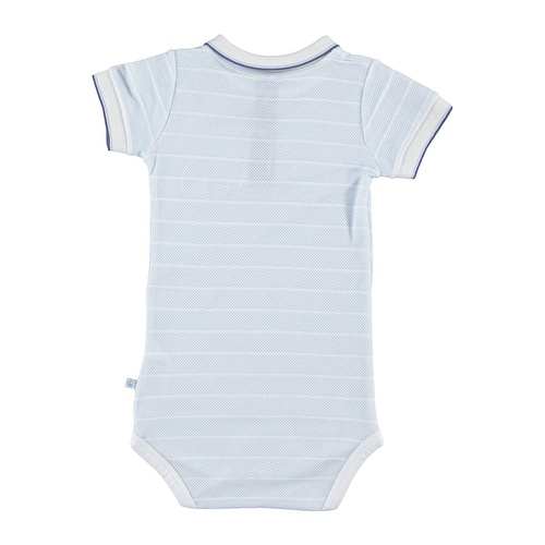 Baby Boy Marin Polo Neck Bodysuit