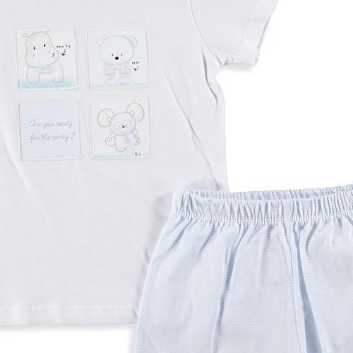 Baby Boy Tomtom Tshirt Short Set