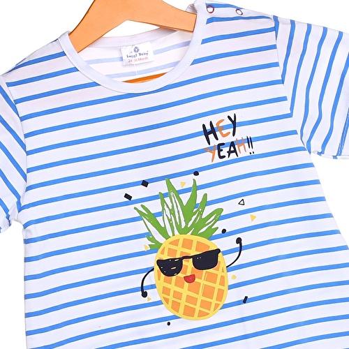 Baby Boy Pineapple Short Romper