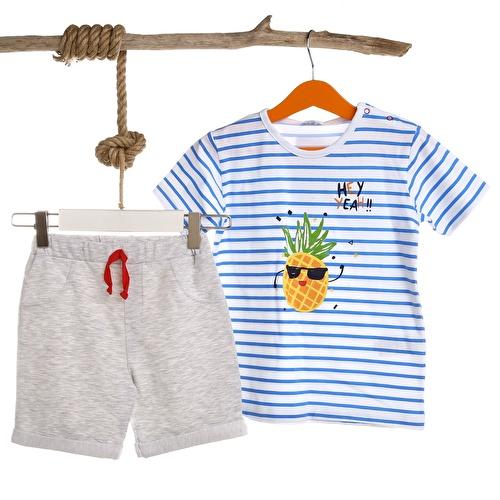 Baby Boy Pineapple Tshirt Short
