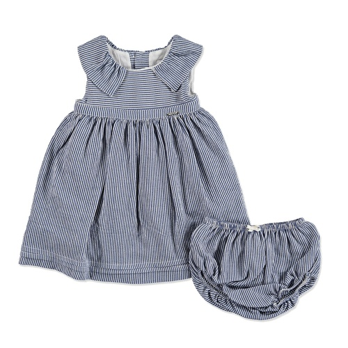 Summer Striped Baby Girl Cotton Dress