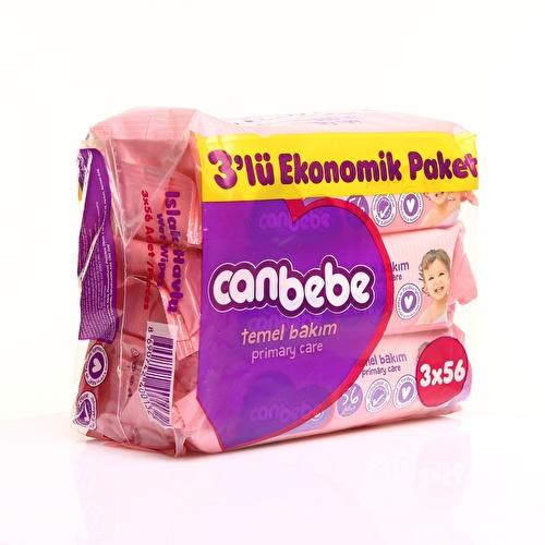 Temel Bakım Islak Mendil Ekonomik Paket 3x56 adet