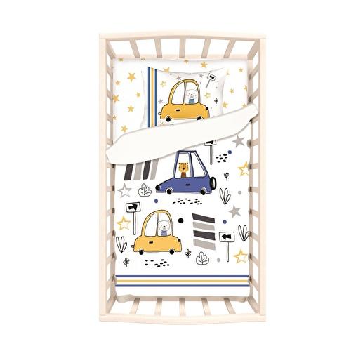 Bebek Araba Park Yatak Uyku Seti 5'Li Set