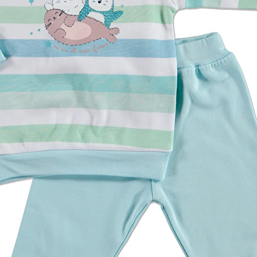 Stars Baby Sweatshirt Trousers 2 pcs