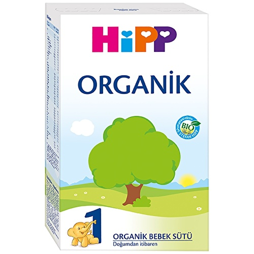 1 Organik Bebek Formülü Biberon Maması 300 gr