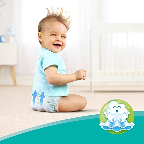 Active Baby Diapers Size 4 Maxi Plus Economic Pack 10-15 kg 34 pcs