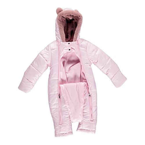 Kış Love Kız Bebek Welsoft Astarlı Astronot Tulum