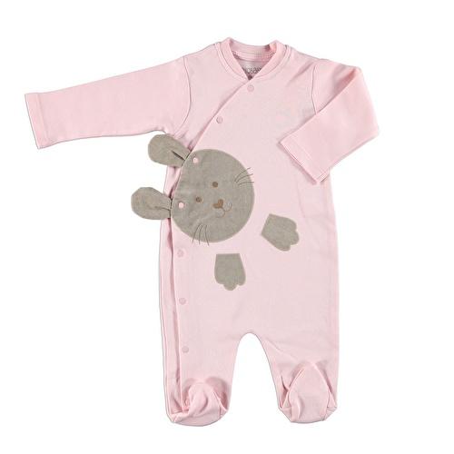 Bebek Tavşan Tema Çıtçıtlı Patikli Tulum