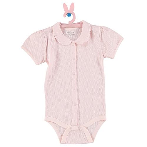 Yaz Kız Bebek Kısa Kollu Body