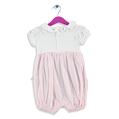 Baby Girl Embroidered Short Romper