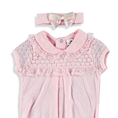 Lacy Detailed Baby Girl Bodysuit