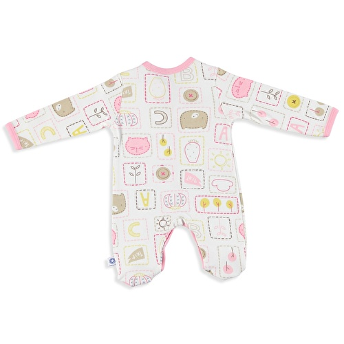 Friends Baby Girl Snaps Romper