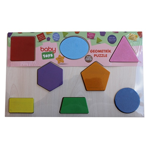 Baby Wooden Geometric Puzzle