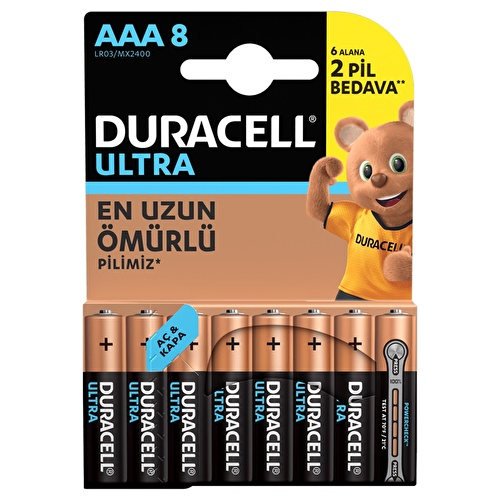 Turbomax Alkaline AAA 6+2 Pieces Battery