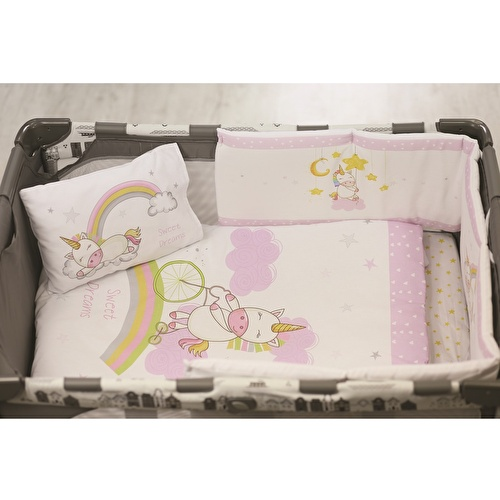 Baby Unicorn Bed Edge Protection 30x180 cm