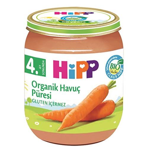 Organik Havuç Püresi 125 gr