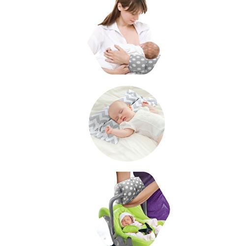 Multi-Purpose Breastfeeding Pillow Zigzag