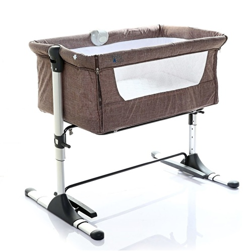 Safe Side Bedside Cradle - Brown