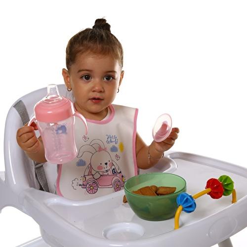 Bebek Hello World Sevimli Arkadaşım Poli Askılı Önlük