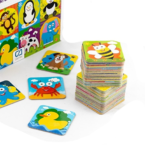 Memory Animals 48 Cards 3 Years+