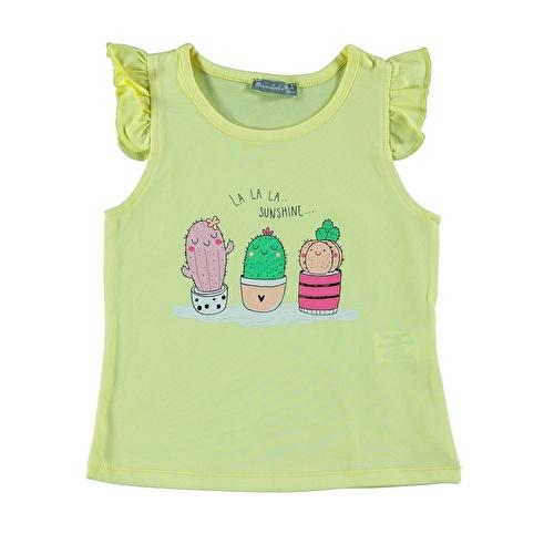 Kız Bebek Havalı Kaktüsler Süprem Tshirt