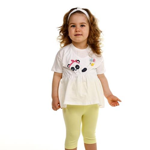Ballon Panda Baby Tshirt Leggings Set