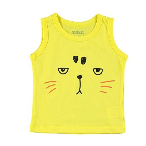 Erkek Bebek Basic Atlet T-Shirt