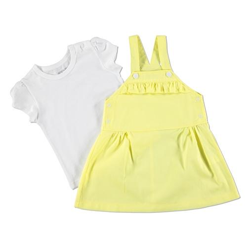 Kız Bebek Limon Tema Jile T-Shirt Takım
