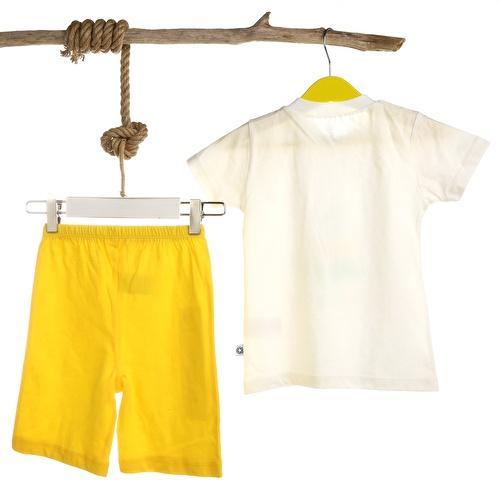 Erkek Bebek Baby Dinozor Pijama Takımı