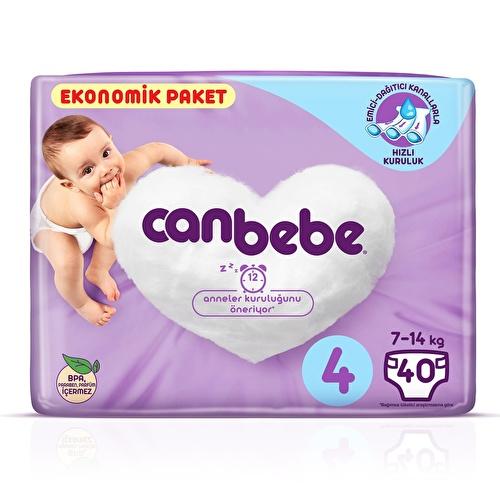 Jumbo Size 4 Maxi Baby Diaper 7-14 kg 40 pcs