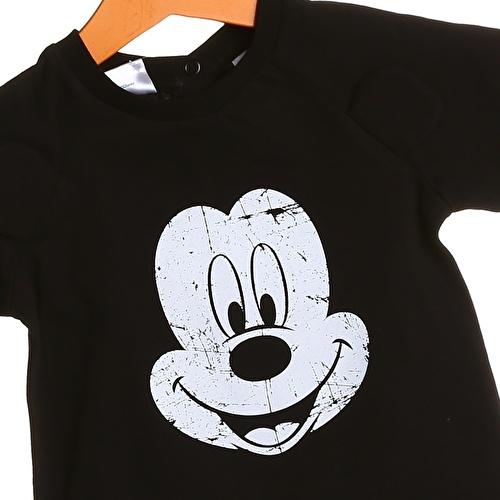 Baby Boy Mickey Mouse Printed Short Sleeve Tshirt
