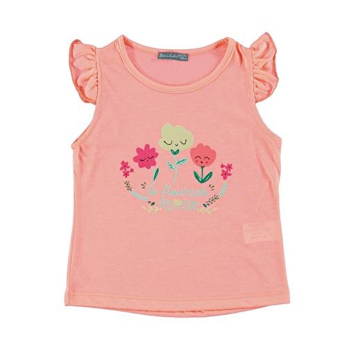 Yaz Kız Bebek To Flowish Süprem Tshirt