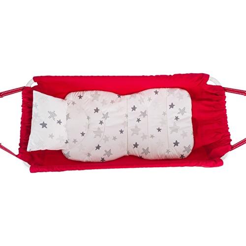 Marmaris Katlanır Bebek Hamağı Kırmızı