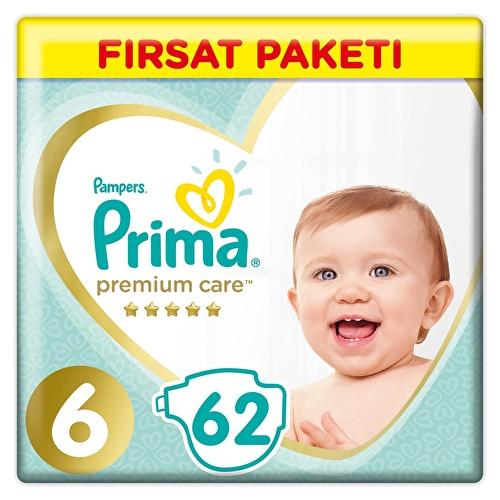 Premium Care Baby Diaper Size 6 Extra Large Advantage Pack 13-18 kg 62 pcs