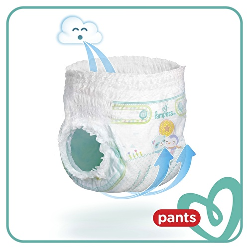 Baby Diapers Size 5 Junior Advantage Pack 11-18 kg 56 pcs