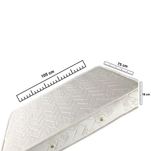 Vardı Ortopedik Yaylı Yatak 75x105 cm