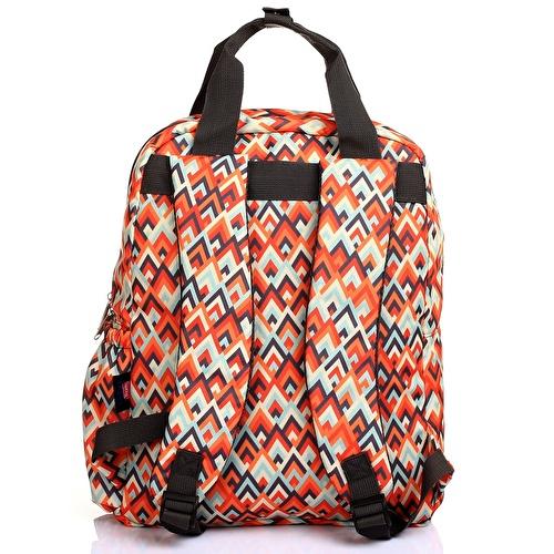 Printed Backpack