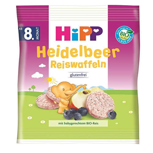 Baby Snack with Bilberries Rice 30 g