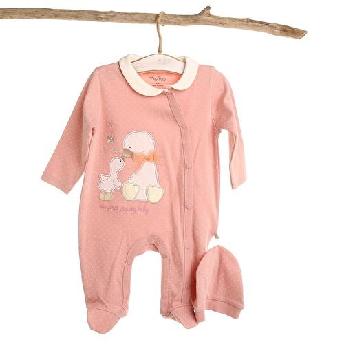 Anatra Baby Girl Romper
