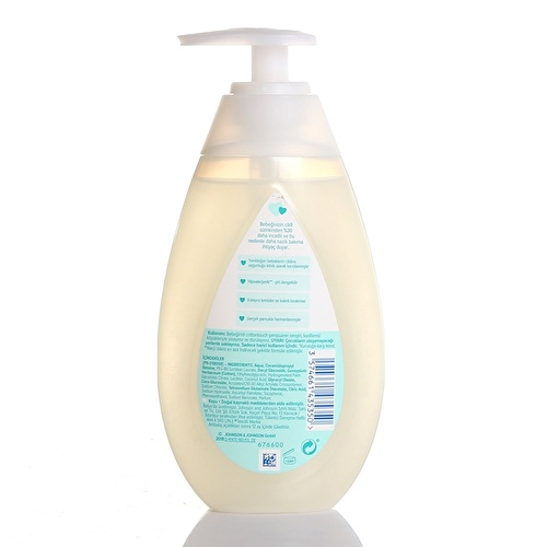 Cotton Touch Hair and Body Shampoo 300 ml