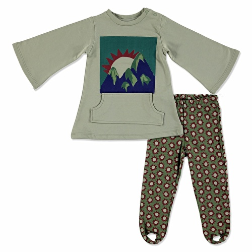 Baby Boy Sweatshirt Leggings Set