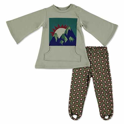 Baby Boy Sweatshirt Leggings Set