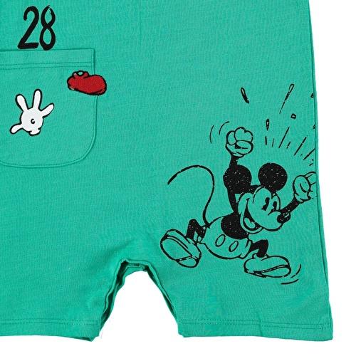 Erkek Bebek Mickey Mouse Kolsuz Lisanslı Barbatöz
