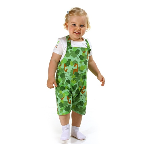 Forest Baby Boy Tshirt Dungarees Set
