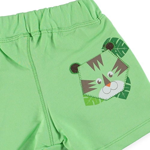 Forest Baby Boy Printed Short