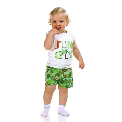 Forest Baby Boy Athlete Short Set