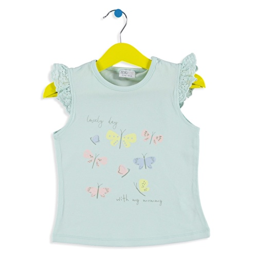 Kız Bebek Güzel Bir Gün T-Shirt